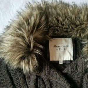 Abercrombie & Fitch Sweater Coat